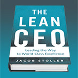 Cover of The Lean CEO by Jacob Stoller